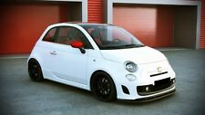 CUP Spoilerlippe für Fiat 500 Abarth Frontspoiler Spoiler Spoilerschwert Lippe