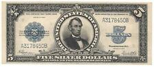 1923 $5 PORTHOLE SILVER CERTIFICATE - No Reserve!