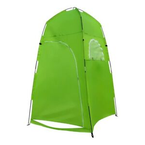 Portable Outdoor Shower Tent Bath Changing Fitting Room Privacy Toilet Camping