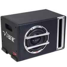 "Vibe CVENV6S-V4 6.5"" 300W Small Compact Passive Car Sub Subwoofer Bass Box"