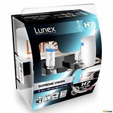 2x H7 Lunex SUPREME VISION 3700K 55W 12V Halogen Scheinwerfer +100% mehr Licht