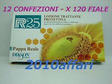 P R 25 PAPPA REALE LOZIONE TRAT. PROTETTIVA DIKSON 10 pz da 10 ML 12 CONFEZIONI