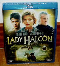 LADY HALCON BLU-RAY NUEVO PRECINTADO AVENTURAS COMEDIA ROMANTICA (SIN ABRIR) R2