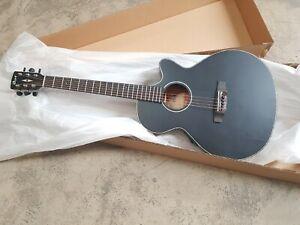 Cort SFX E BKS Black Matte Acoustic Guitar w/ inbuilt Pickup/Tuner
