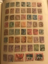EARLY JAMAICA QUEEN VICTORIA 1860 AND UP OVER 150 STAMPS COLLECTION USED UNUSED