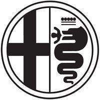 Alfa Romeo Emblem Logo Diecut Vinyl Decal Sticker Car Window Wall Truck