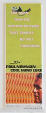 Cool Hand Luke FRIDGE MAGNET (1.5 x 4.5 inches) insert movie poster paul newman