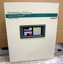 Toshiba Tosvert 130H2 Transistor Inverter w/ Variable Torque VT130H2U4110 11 KVA