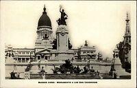 Buenos Aires Argentinien Argentina AK ~1930/40 Monumento dos Congresos Denkmal