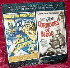 LD Laserdisc BORIS KARLOFF Db. Feature THE HAUNTED STRANGLER/CORRIDORS OF BLOOD