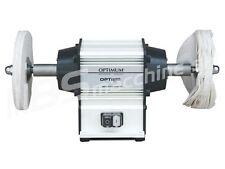 Mola pulitrice lucidatrice da banco doppia per metalli OPTIMUM GU 20P 230V 600W