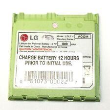 LG LGLP-AGQM Battery Pack Li-Ion Polymer 3.7 V 800mAh for VX8600 Cellphone Green