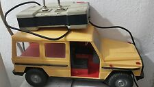 VINTAGE MERCEDES G CLASS ANKER PRESU DDR GDR GERMANY TOY CAR REMOTE CONTROLED
