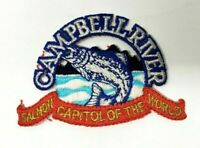 Campbell River Salmon Capital of the World Fishing Embroidered Patch