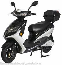 Cabo Cruiser Elite X-Treme Electric Bicycle 600 Watt 48 V Moped Scooter Black