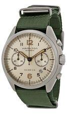 Hamilton Khaki Pilot Pioneer Automatic Chronograph Canvas Mens Watch H76456955