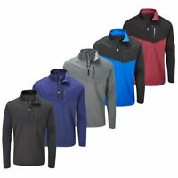 STUBURT 2019 MENS EVOLVE EXTREME FLEECE 1/4 ZIP THERMAL WINDPROOF GOLF SWEATER