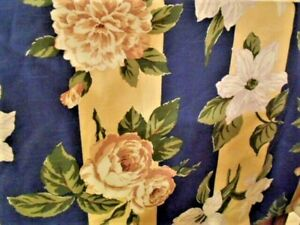 Jay Yang Design Floral Cotton Upholstery Fabric BTY