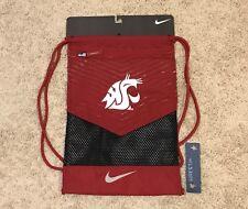 Nike WSU Cougars College Vapor 2.0 Gym Sack - Crmsn/Blk/Wht/Gry #BA5284 618