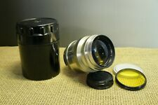 Vintage 1966. JUPITER - 9.  F2 /85mm USSR /Russian lens M39 for RF camera.(345)