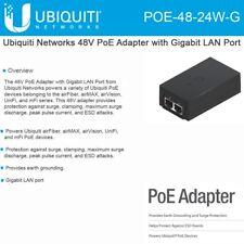 Ubiquiti Networks POE-48-24W-G 48V PoE Adapter with Gigabit LAN Port