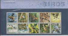 GB 2007 UK SPECIES BIRDS PRESENTATION PACK No. 401 SG 2764-2773 MINT STAMP SET