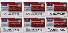 6 PACK Family Care Tolnaftate Antifungal Cream 1% Compare to Tinactin- 1 fl.oz