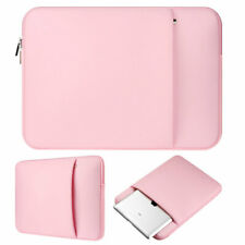 For 13.3 inch Apple Macbook Pro Retina Pink Laptop Sleeve Soft Carry Bag Case