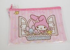 My Melody Soft Vinyl Bag Pouch Zipper Bag Sanrio Free Shipping