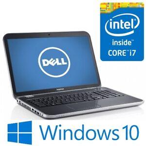 """Dell Inspiron 17R-7720 Core i7 3610QM 8G 750G Nvidia 17.3"""" FHD HDMI Win 10 Pro"""