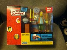 Simpsons WOS Military Antique Shop Playset with Herman by Playmates Toys