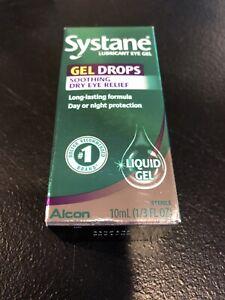 New Systane Liquid GEL Lubricant Eye Drops 10ml Bottle Exp: 10/2021