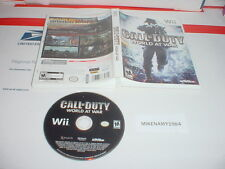 CALL OF DUTY: WORLD AT WAR game only in case - Nintendo Wii