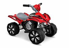 Kids Ride On ATV Quad 4 Wheeler Electric Toy Car 6V Battery Power Quad In Red