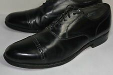 Men'S Footjoy Classics Black Leather Cap Toe Dress Shoes! Oxfords/Made In Usa 9C