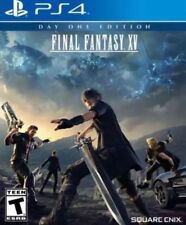 Final Fantasy Xv 15 Used Sealed (Sony PlayStation 4, 2016) Ps4