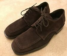 EUC! Mens Brown Suede Kenneth Cole Loafers Made In Italy Sz 11M Handsome Style!