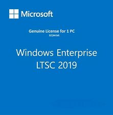 Microsoft Windows 10 Enterprise LTSC 2019 Genuine Activation Key Code