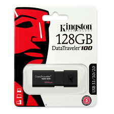 Kingston Digital 128GB DataTraveler 100 G3 DT100G3 USB 2.0 3.0 Flash Drives
