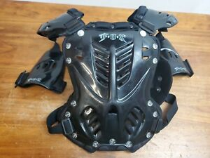 FOX Racing R3 Roost Deflector Chest Protector Black Size Small Used