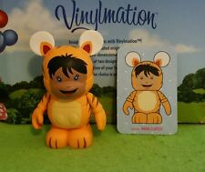 "Disney Vinylmation 3"" Park Set 2 Cutesters Too Tiger Boy Costume with Card"