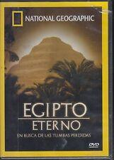 DVD - Egipto Eterno En busca de las tumbas perdidas NEW FAST SHIPPING !