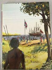 Childcraft Story Of Australia book Aboriginies Ned Kelly Gallipoli Cyclone Tracy