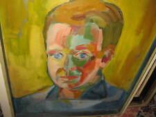 LÜHR Rudolf, *1935 Seltenes Selbstportrait MUSEAL