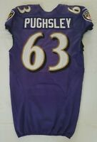 #63 Jarrod Pughsley of Baltimore Ravens NFL Locker Room Practice Jersey - BR1696