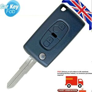 fits Peugeot 4007 4008 2 Button Remote Key case CE1731
