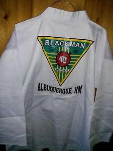 US TAEKWONDO Uniform size 3/ 170 - BLACKMAN TAE KWON DO ALBUQUERQUE, NM TOP ONLY