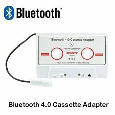Bluetooth Car Music Audio Receiver Cassette Mp3 Player Adapter For Smartphones