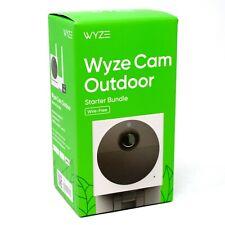 New Wyze Wvod1B1 Wireless Outdoor Surveillance Security Camera Starter Bundle