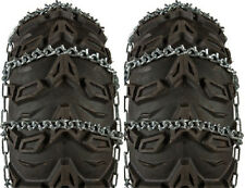 Sedona Pair V-Bar Snow Tire Chains ATV UTV 25x12-9 24x11.5-10 25x11-10 25x12-10